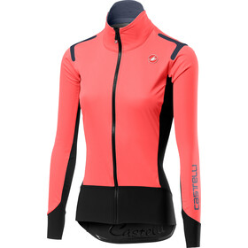 Castelli Alpha Rain Or Shine Light Jas Dames, brilliant pink/black
